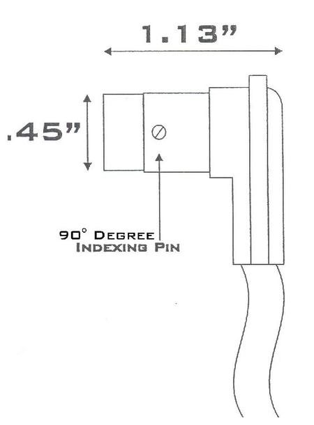 SME - Right-Angled Connector for M30/2