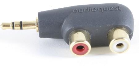 AudioQuest - Audioquest Adapter Plug 3.5mm to 2 RCA