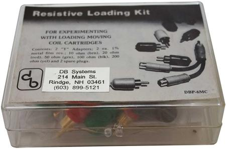 D.B. Systems - DB Systems DBP-6 MC Phono Resistor Loading Kit