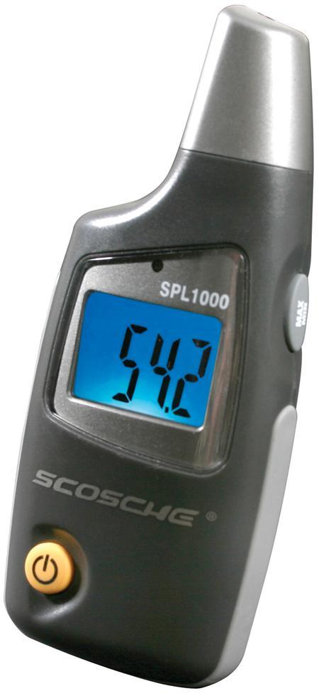 Scosche - SPL1000F Digital Sound Pressure Meter