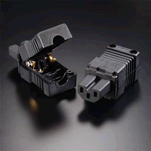 Furutech - FI-15E[G] 24K Gold Plated IEC Connector