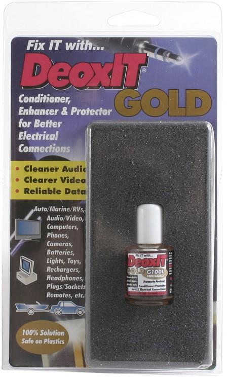 CAIG Laboratories - ProGold G100L Brush Applicator, 7.4 ml