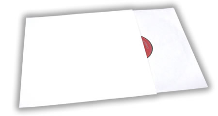 - Plain White Record Jacket