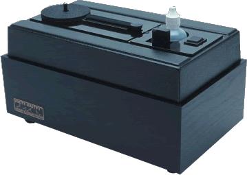 Nitty Gritty - Model 1.5 Record Cleaning Machine Semi-Manual/ Vinyl Woodgrain Cabinet