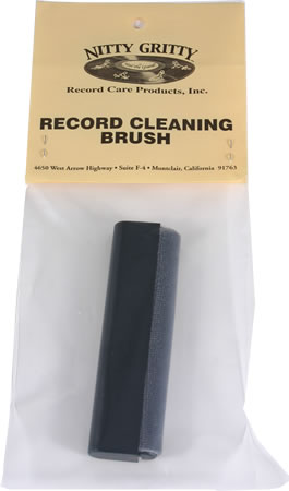 Nitty Gritty - Record Cleaning Brush (useful for bi-directional scrubbing)