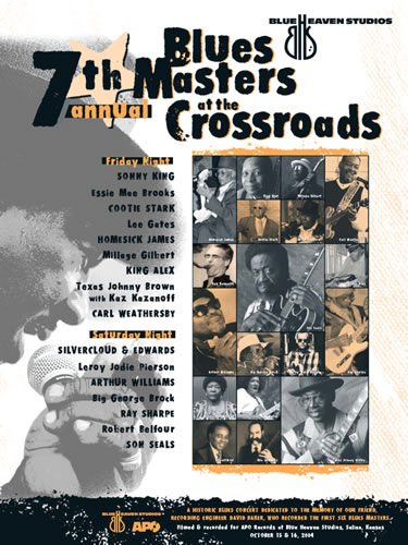 Blue Heaven Studios - Blues Masters at the Crossroads 7 (2004) Poster