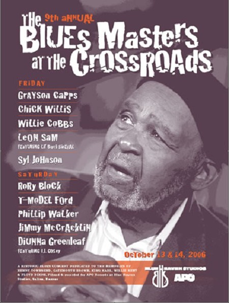 Blue Heaven Studios - Blues Masters at the Crossroads 9 (2006)  Poster