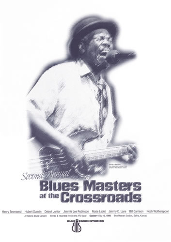 Blue Heaven Studios - Blues Masters at the Crossroads 2 (1999)  Poster