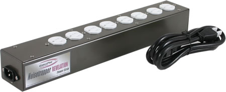 CablePro - Integrity Power Strip 8 outlet Power Strip/ white outlets, unfused