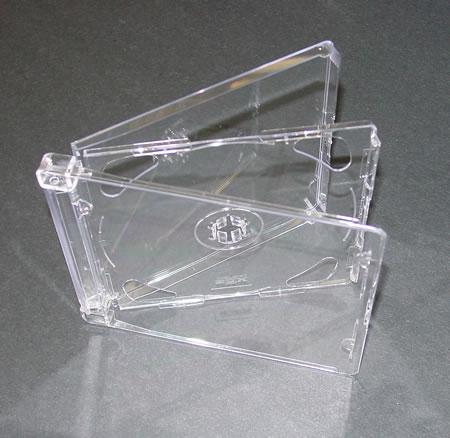 - SACD Jewel Case Fliptray (2 discs)