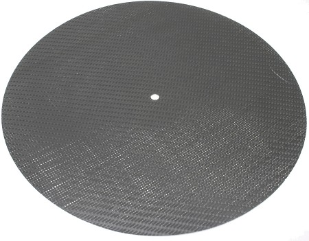 Extreme Phono - Speed Carbon Graphite Turntable Mat