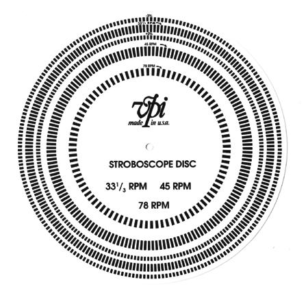 VPI - Strobe Disc A0023