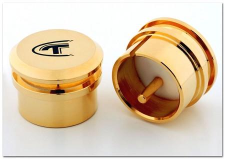 Telos Audio - Gold-Plated Copper XLR Male Caps / set of 2 ea.