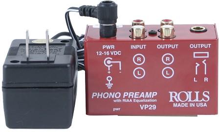 Bellari - Rolls VP29 Solid State Phono Stage