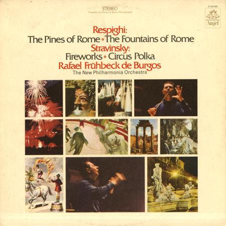 Fruhbeck de Burgos, New Philharmonia Orchestra - Respighi: Pines Of Rome etc.