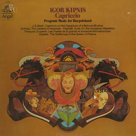 Igor Kipnis - Capriccio - Program Music for Harpsichord