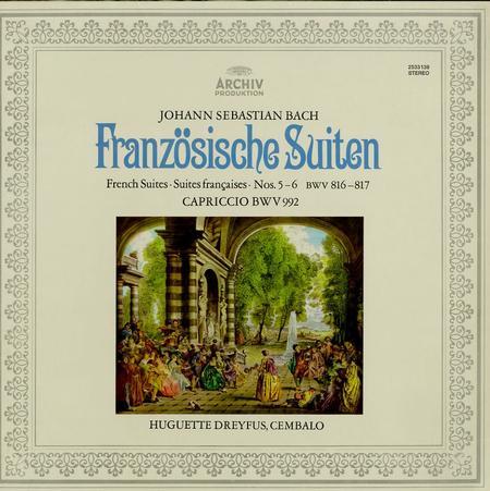 Huguette Dreyfus - Bach: Franzosische Suiten