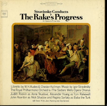 Igor Stravinsky - Stravinsky: The Rake's Progress