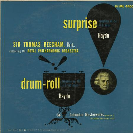 Beecham, RPO - Haydn: Symphonies Nos. 94 & 103