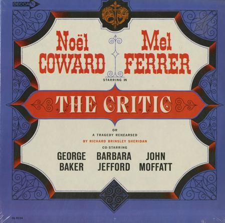 Original Cast Recording - The Critic