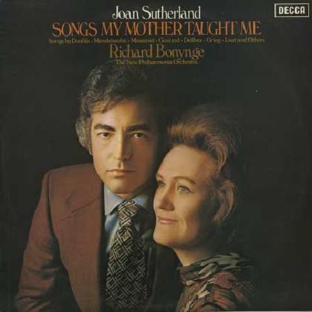 Joan Sutherland, Bonynge, NPO - Songs My Mother Taught Me