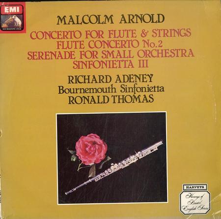 Thomas, Bournemouth Sinfonietta - Arnold: Concerto For Flute & Strings