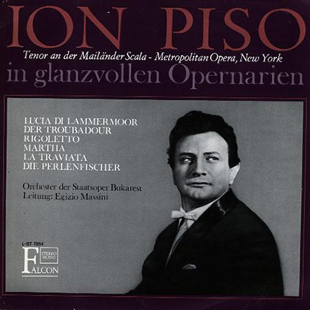 Ion Piso - Glanzvollen Opernarien