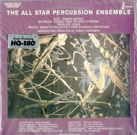 Faberman, Harold - The All Star Percussion Ensemble plays Bizet, Beethoven, Pachelbel, Berlioz