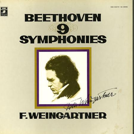 Felix Weingartner - Beethoven: The Nine Symphonies