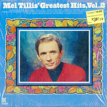 Mel Tillis - Mel Tillis' Greatest Hits, Vol.2