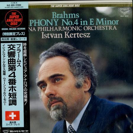 Kertesz, Vienna Phil. Orchestra - Brahms: Symphony No. 4 in Em