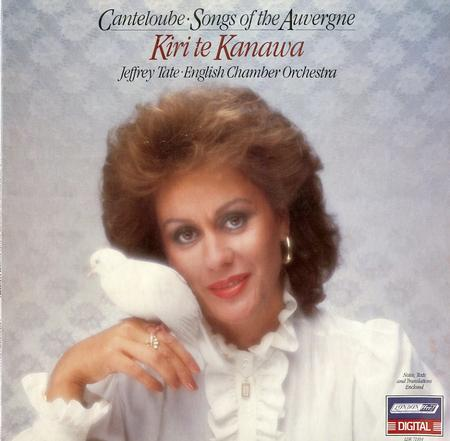 Te Kanawa, Tate, English Chamber Orchestra - Canteloube: Songs of The Auvergne