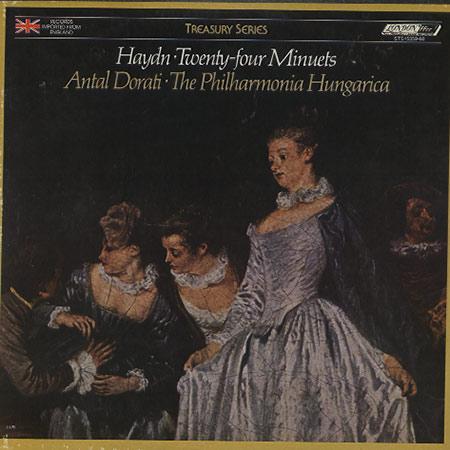 Dorati, Philharmonia Hungarica - Haydn: Twenty-four Minuets