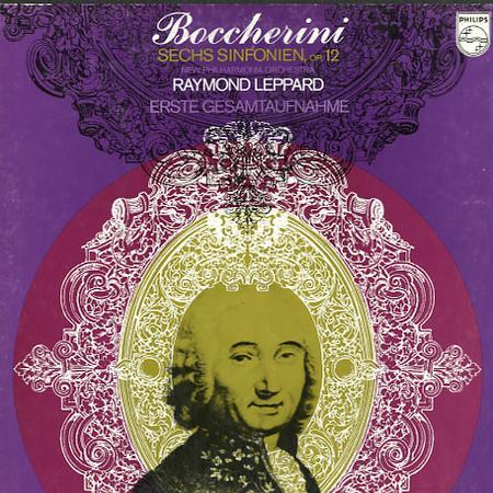 Leppard, New Philharmonia Orchestra - Boccherini: Sechs Sinfonien