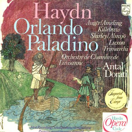 Auger, Ameling, Dorati, Lausanne Chamber Orchestra - Haydn: Orlando Paladino