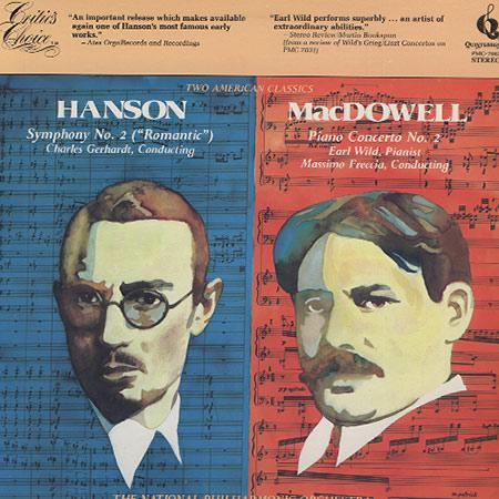 Charles Gerhardt, National Philharmonic Orchestra - Hanson: Symphony No. 2 etc.
