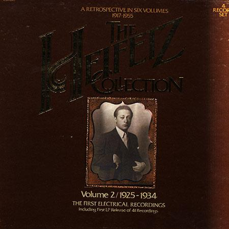 Jascha Heifetz - The Heifetz Collection Vol. 2 1925-1934