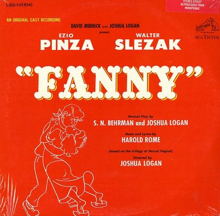Original Cast Recording - Fanny