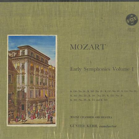 Kehr, Mainz Chamber Orchestra - Mozart: Early Symphonies Vol. 1
