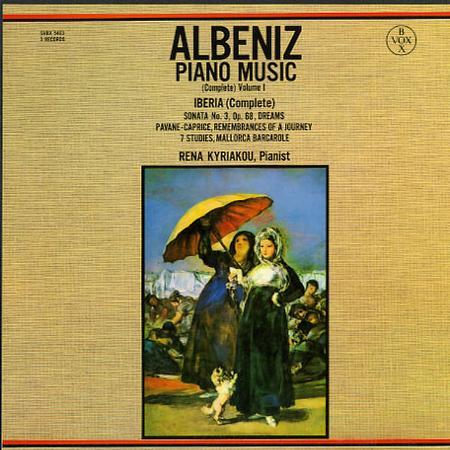 Rena Kyriakou - Albeniz: Piano Music - Complete Vol. 1