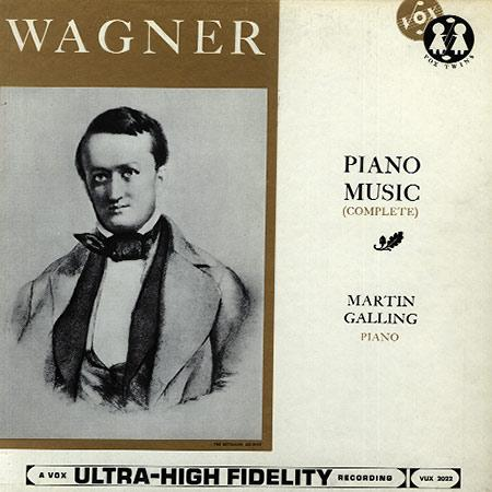 Martin Galling - Wagner: Piano Music ( Complete)