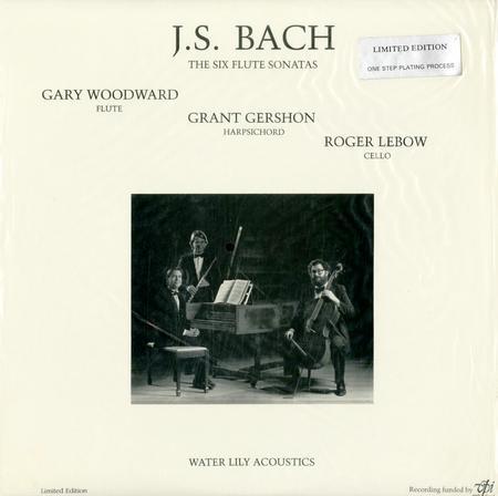 Woodward, Gershon, Lebow - J.S. Bach: The Six Flute Sonatas
