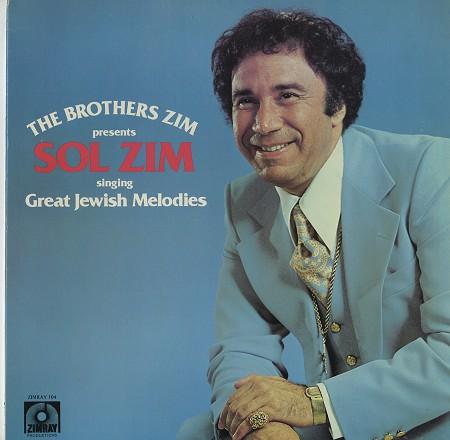 Sol Zim - Great Jewish Melodies