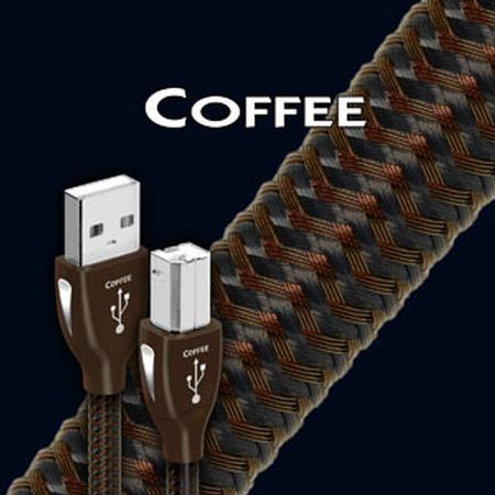 AudioQuest - Coffee USB cable Type A to Type B