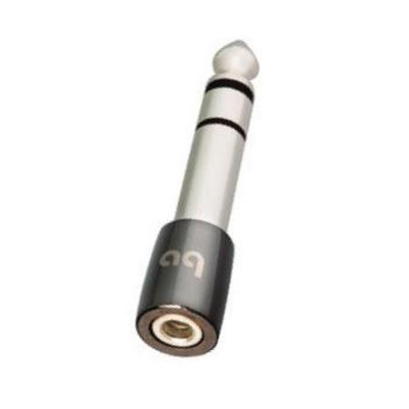 AudioQuest - Headphone Adapter 1/4in male to 3.5mm female