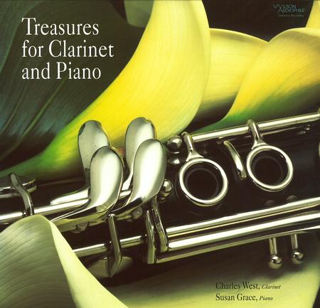 Charles West & Susan Grace - Treasures for Clarinet & Piano