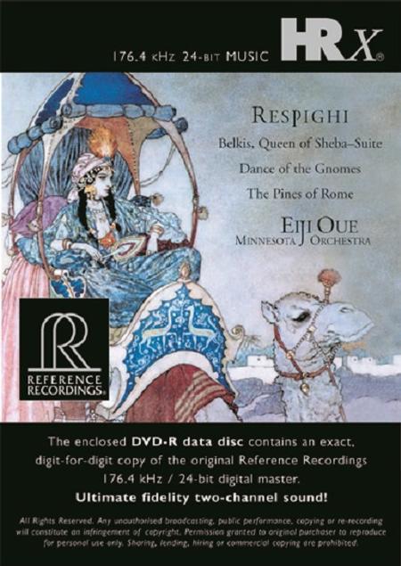 Eiji Oue - Respighi: Belkis, Queen Of Sheba Suite, Pines Of Rome