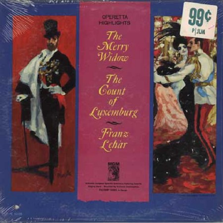 Franz Marszalek - Lehar: The Merry Widow, The Count Of Luxemburg highlights