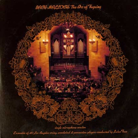 Lukas Foss - Bach, Malloch: The Art Of Fuguing/2 LPs
