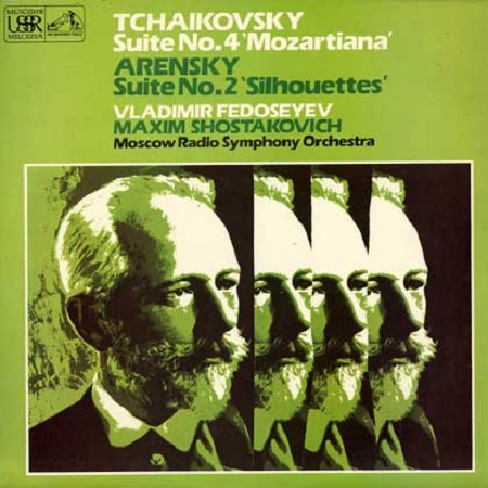 Fedoseyev, Moscow Radio Symphony Orchestra - Tchaikovsky: Suite No. 4 etc.